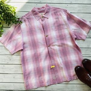 Tommy Bahama Short Sleeve Button Up Collared Shirt
